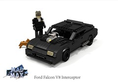 Ford Falcon XB Interceptor (Mad Max) (lego911) Tags: auto birthday max classic ford film car movie model lego render australia melbourne falcon 1975 aussie mad 1970s coupe xb challenge v8 8th pursuit 70th cad lugnuts supercharged geelong 96 povray littleriver moc youyangs ldd 2015 miniland fgx lego911 happycrazyeighthbirthdaylugnuts redoredemption