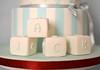 Christening Cake Detail (Kennet House Cakes) Tags: boy monkey stripes christening blocks christeningcake