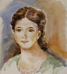 Portrait pour le groupe défiaqua (geneterre69) Tags: aquarelle