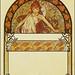 """Alphonse Mucha """"Ilsee - Autumn figure (modified) 1897"""