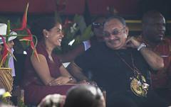 Prime time! (Sven Rudolf Jan) Tags: smiles papuanewguinea primeminister alotau peteroneill kundufestival