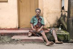 A difficult journey (Photosightfaces) Tags: man sitting leg sri lanka difficult colombo amputee prosthetic lankan difficulty amputated prostetic slaveisland diasability