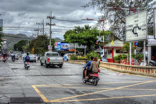 Hua Hin trafic