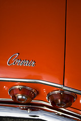 Corvair trunk script (Light Orchard) Tags: auto old atlanta classic cars chevrolet car bike vintage automobile antique voiture motorbike chevy american cycle motorcycle restored motor motorbyke corvair byke caffeineoctane bruceschneider 2015lightorchard
