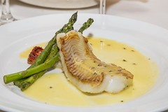 Nice turbot for tea... (vk2gwk - Henk T) Tags: travel cruise fish pacific mains turbot princesscruises diamondprincess