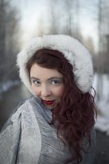 Sydni - Ice Princess of Westchester Lagoon (Luv Duck - Thanks for 15M Views!) Tags: select sydni redhair redhead beautifulgirl pretty prettygirl alaskangirls anchoragegirls winter winterinalaska furearmuffs curlyhair