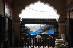 Archway to Devaraja Urs Market (bluelotus92) Tags: india arch market marketplace archway karnataka mysore entry mysuru devarajursmarket devarajaursmarket