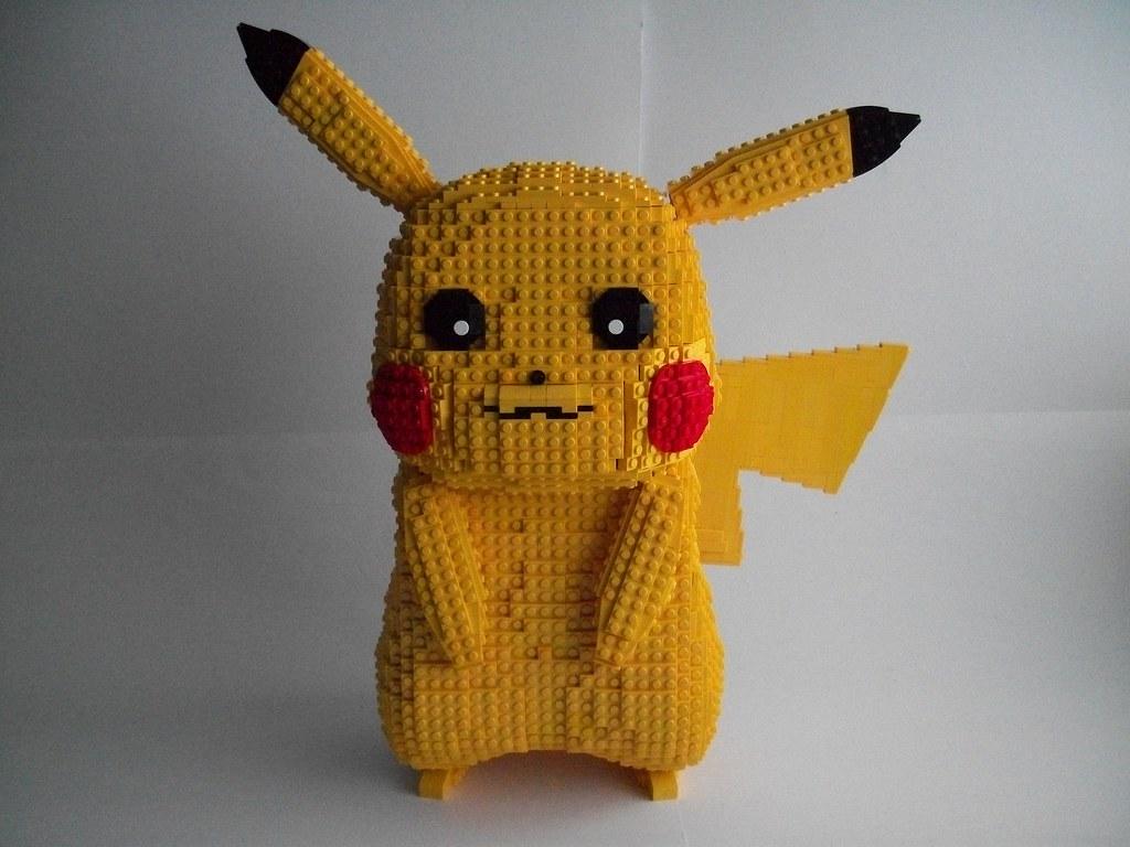 how to make a lego pokemon pikachu
