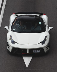 Ferrari, 458 Italia, Wan Chai, Hong Kong (Daryl Chapman Photography) Tags: t1ff ferrari 458 italia wanchai pan panning 1d mkiv priordesign bodykit car cars auto autos automobile canon eos is ii 70200l f28 road engine power nice wheels rims hongkong china sar drive drivers driving fast grip photoshop cs6 windows darylchapman automotive photography hk hkg bhp horsepower brakes gas fuel petrol topgear headlights worldcars daryl chapman darylchapmanphotography