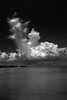 The rule of the thirds (Robyn Hooz) Tags: indonesia belitung nuvole clouds mare sea horizon orizzonte isola monochrome black white bw infrared