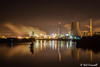 362/366 Stanlow As The Mist Draws In (crezzy1976) Tags: nikon d3300 crezzy1976 photographybyneilcresswell photoaday reflection stanlow afterdarkphotography nightphotography lights ellesmereport cheshire 365 366challenge2016 day362