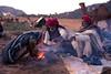 Morning Supper (Karunyaraj) Tags: pusharfair pushkar camelherder camel camelfair camelfair2016 fire breakfast cooking earlymorning sunrise cwc chennaiweekendclickers cwc561 nikond610 d610 dawn nikon24120