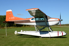 C-FJOQ (John W Olafson) Tags: seaplane cessna skywagon selkirk manitoba