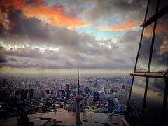 上海 魔都 (CHACOBAOBAO) Tags: 上海 上海市 中國 摩天大樓 skyline 上海環球 swfc sh china sky city cityview