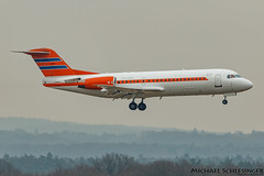 PH-KBX - Fokker F70 - Government of the Netherlands (MikeSierraPhotography) Tags: air airlines cologne country deutschland f70 flughafen fokker germany governmentofthenetherlands manufacturer plane spotting town phkbx