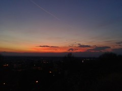 Sunset (Alexandros McCarthy) Tags: cielo rosso nuvole sunset sky red clouds tramonto colori colors light luce controluce contrasto atmosfera atmosphere piemonte caluso it italia italy