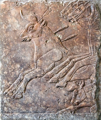 Royal bull hunt. (Nick in exsilio) Tags: assyria antiquity assyrian ashur religion pergamonmuseum berlin archaeology vorderasiatisches museum