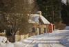 Enochdhu (Katherine Fotheringham) Tags: enochdhu phone box snow cottage road cold winter