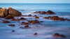 Night Time Surf (harvey.doane) Tags: chile southamerica surf waves rocks beach longexposure shore seaside pacificocean concon