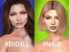 POSIE - Kendall & Marie Shapes (byKylie) Tags: letre catwa shape maitreya kendall marie posie