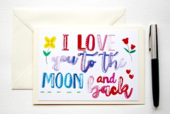 I love you to the moon and back handmade greeting card-3 (roisin.grace) Tags: greetingcards greetingcard handpainted handmade handmadecards handpaintedcards etsy etsyseller etsyshop etsyhandmade etsyfinds lovecards valentinesday valentines valentinescard iloveyoutothemoonandbackcard iloveyoutothemoonandback lovecard