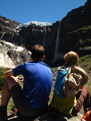 waterfalls of tronador in a day hike