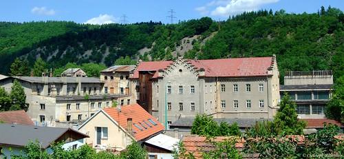 Vrané nad Vltavou - býv. papírna (Wran an der Moldau - ehem. Papierfabrik)