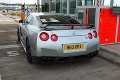 Nissan GT-R (D's Carspotting) Tags: nissan gtr france coquelles calais grey 20100613 m60rpa le mans 2010 lm10 lm2010