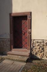 IMGP7681 (hlavaty85) Tags: kostelecnadčernýmilesy door dveře kostel church