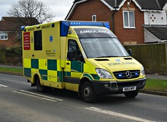 ND12WPF (Cobalt271) Tags: nd12wpf neas mercedes sprinter 516 cdi emergency ambulance nhs was