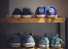 Stars (Mister Blur) Tags: converse all star sneakers snapseed family nikon d7100 35mm f18 stars chucks weareallmadeofstars moby
