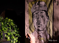 "Roma. Circolo degli Illuminati. Live painting by Piskv for 5 Pointz ""The Street Art Factory"". Portrait of @chancetherapper (R come Rit@) Tags: italia italy roma rome ritarestifo photography streetphotography streetart arte art arteurbana streetartphotography urbanart urban wall walls wallart graffiti graff graffitiart muro muri artwork streetartroma streetartrome romestreetart romastreetart graffitiroma graffitirome romegraffiti romeurbanart urbanartroma streetartitaly italystreetart contemporaryart artecontemporanea artedistrada underground circolodegliilluminati circoloilluminati circolo music night 5pointz thestreetartfactory cowlick artexhibition livepainting piskv chancetherapper portrait ritratto ostiense"