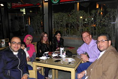 Having Coffee with the Sabre Team and their families in New Cairo (rougetete) Tags: egypt cairo newcairo 5thcompound 5thdistrict coffeeshopcompany katameyadowntownmall katameyadowntown