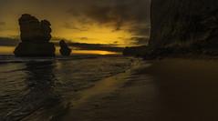 Sunset (Farhat M) Tags: sunset gibsonsteps 12apostles ocean beach seascape landscape hills rocks mountains waves surfbeach lowtide clouds sand sun sky canon 5dmkiv leefilters australia victoria summerdays