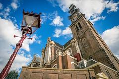 Westertoren (Westerkerk) Bell Tower (Recovering Oversaturator) Tags: belltower prinsengracht annefrank westertoren westerkerk