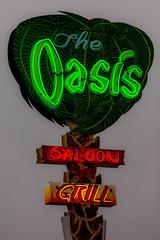 Drinks at the Oasis (Thomas Hawk) Tags: california usa bar restaurant neon unitedstates unitedstatesofamerica oasis theoasis sanger reedley fav10