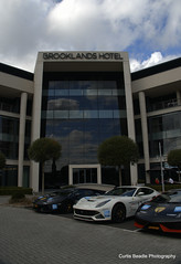 Outside brooklands hotel (ForzaMad17 (Curtis Beadle)) Tags: brooklands supercarsarabiaclub