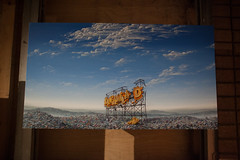 Jeff Gillette (G. J. Winterboer) Tags: uk streetart graffiti mare satire banksy super antiwar westonsupermare weston anticonsumerism canon5dmkii canon5dmarkii bemusementpark dismaland