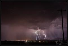 Lightning attacking Kingman 1 (K-Szok-Photography) Tags: arizona clouds canon landscape nightimages 5d nightshots canon5d lightning canondslr kingman thunderbolt thunderstroms kenszok kszokphotography