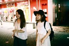 nightwalk (troutfactory) Tags: friends film japan night availablelight rangefinder kobe  analogue kansai   natura1600 35mmultron voigtlanderbessar2a