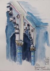 Fes - Restaurant Dar Saada (kamivo) Tags: trip journey marocco reise riad darsaada