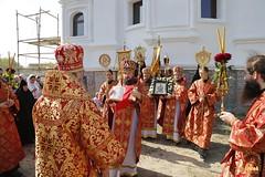066. Patron Saints Day at the Cathedral of Svyatogorsk / Престольный праздник в соборе Святогорска