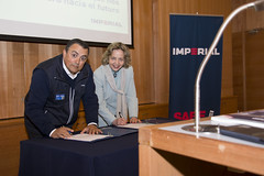 Firma de adherencia de Imperial a Red Pacto Global Chile