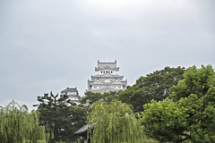 Himeji Castle by Forehead Viewpoint (Johnnie Shene Photography(Thanks, 1Million+ Views)) Tags: world old travel trees people colour macro building castle heritage fashion japan horizontal architecture clouds canon lens asian photography eos japanese rebel dc site scenery kiss asia exterior view image cloudy fort outdoor no traditional scenic sigma style tranquility landmark scene structure east destination modified hd colourful oriental forehead 1770 viewpoint tranquil hdr adjustment built attraction freshness foreground fashioned   x6 hemiji fragility 284  650d t4i 1770mm f284