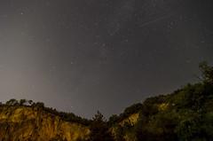Sky with falling star - make a wish! (bojan_vutov) Tags: sky night star space fallingstar