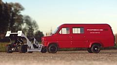 "1:18 Premium Classixx - Ford Transit ""Porsche Racing Service"" (vwcorrado89) Tags: ford scale race miniature model die racing cast porsche transit service resin van modell premium transporter modelcar 118 scalemodel diecast modellauto miniaturecar resine classixx miniaturmodell"