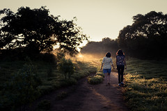 Kas Plateau : Friendship (anish.padalkar) Tags: india field sunrise dawn outdoor maharashtra satara kas weekendgetaway traveldiaries anishpadalkar