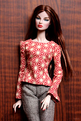 handmade blouse and pants (bnkiti) Tags: doll pants handmade blouse eugenia decorum fr2 handsewing