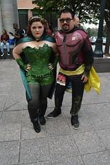 Dragon*Con 2015 - Sunday (fallen_identity) Tags: robin cosplay batman dccomics poisonivy dragoncon