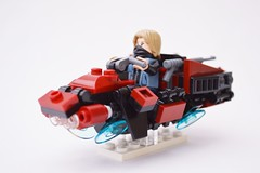 Space Bike: A LEGO® creation by 17 - Chief Andreas L. : MOCpages.com
